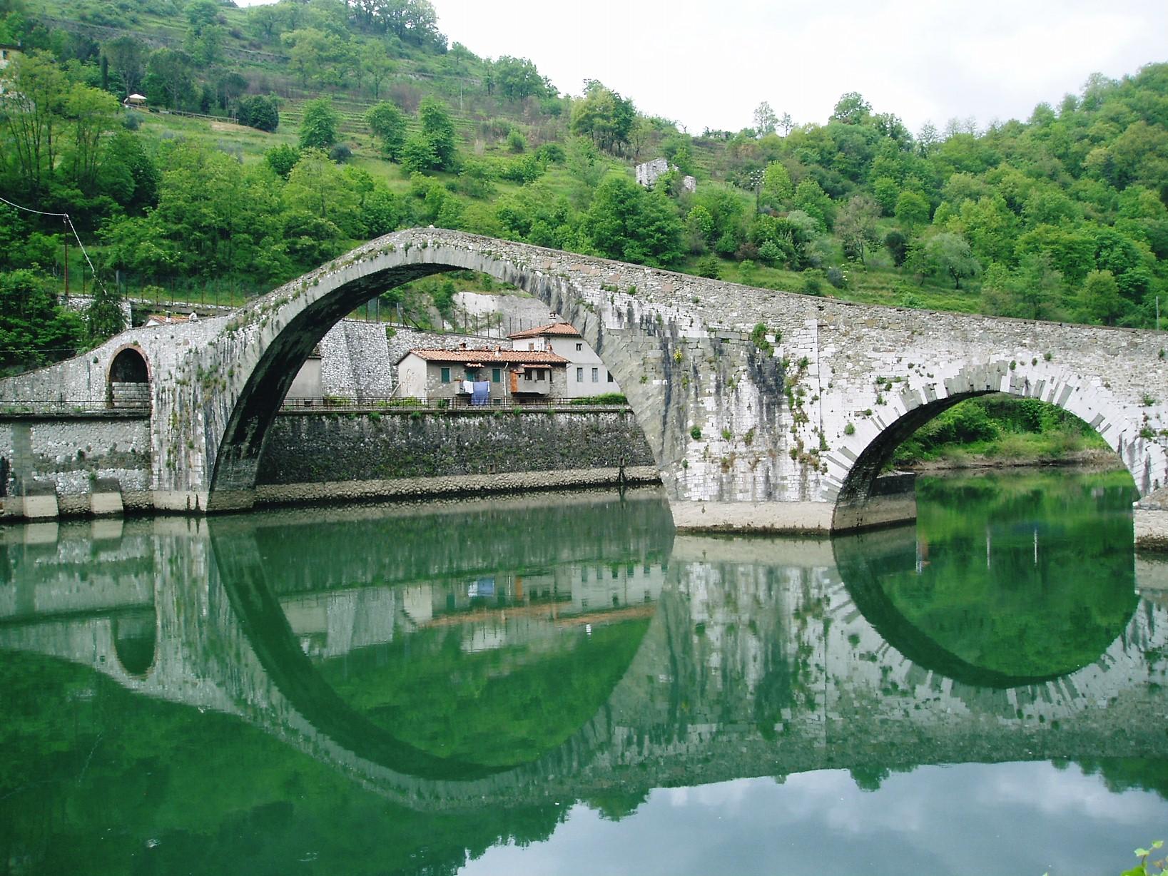 Ponte maddelena devil s bridge bagni di lucca and beyond - Bagno di lucca ...