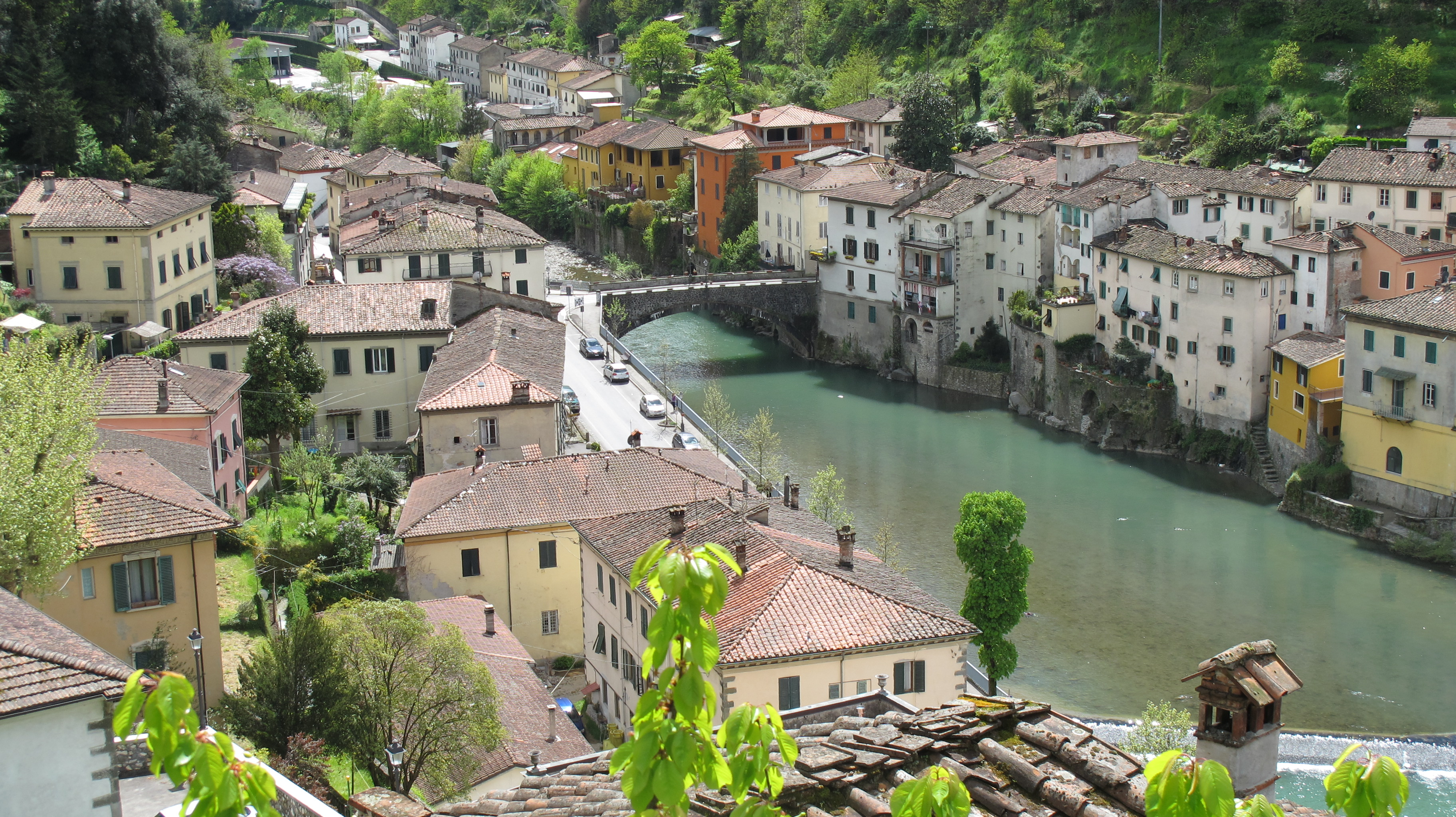 Ponte a Serraglio in April | Bagni di Lucca and Beyond