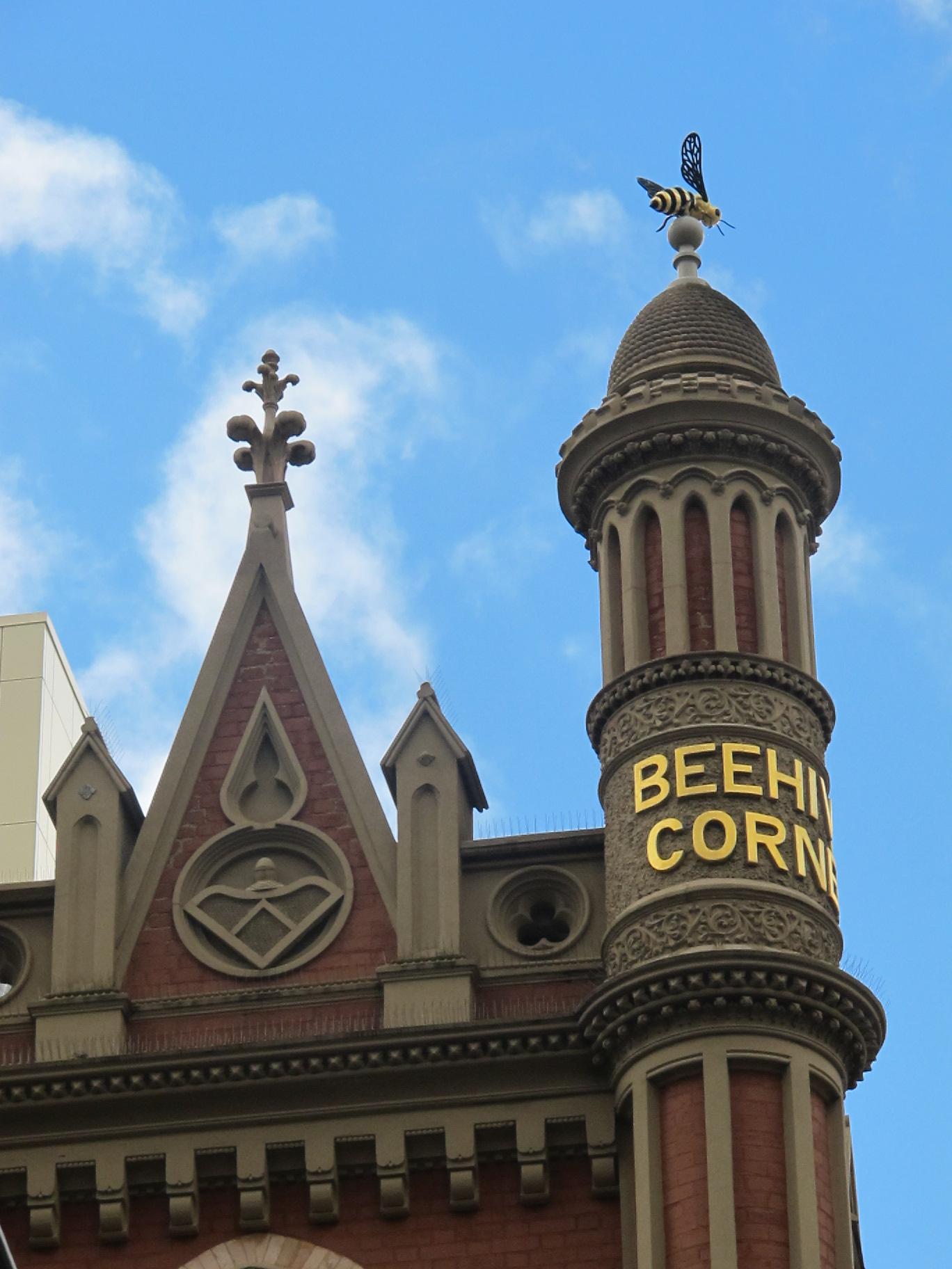 Beehive Corner on Australia Landmarks