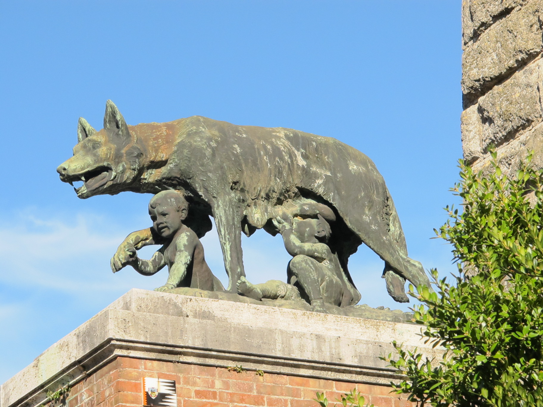 Romulus And Remus Take Over Siena Bagni Di Lucca And Beyond