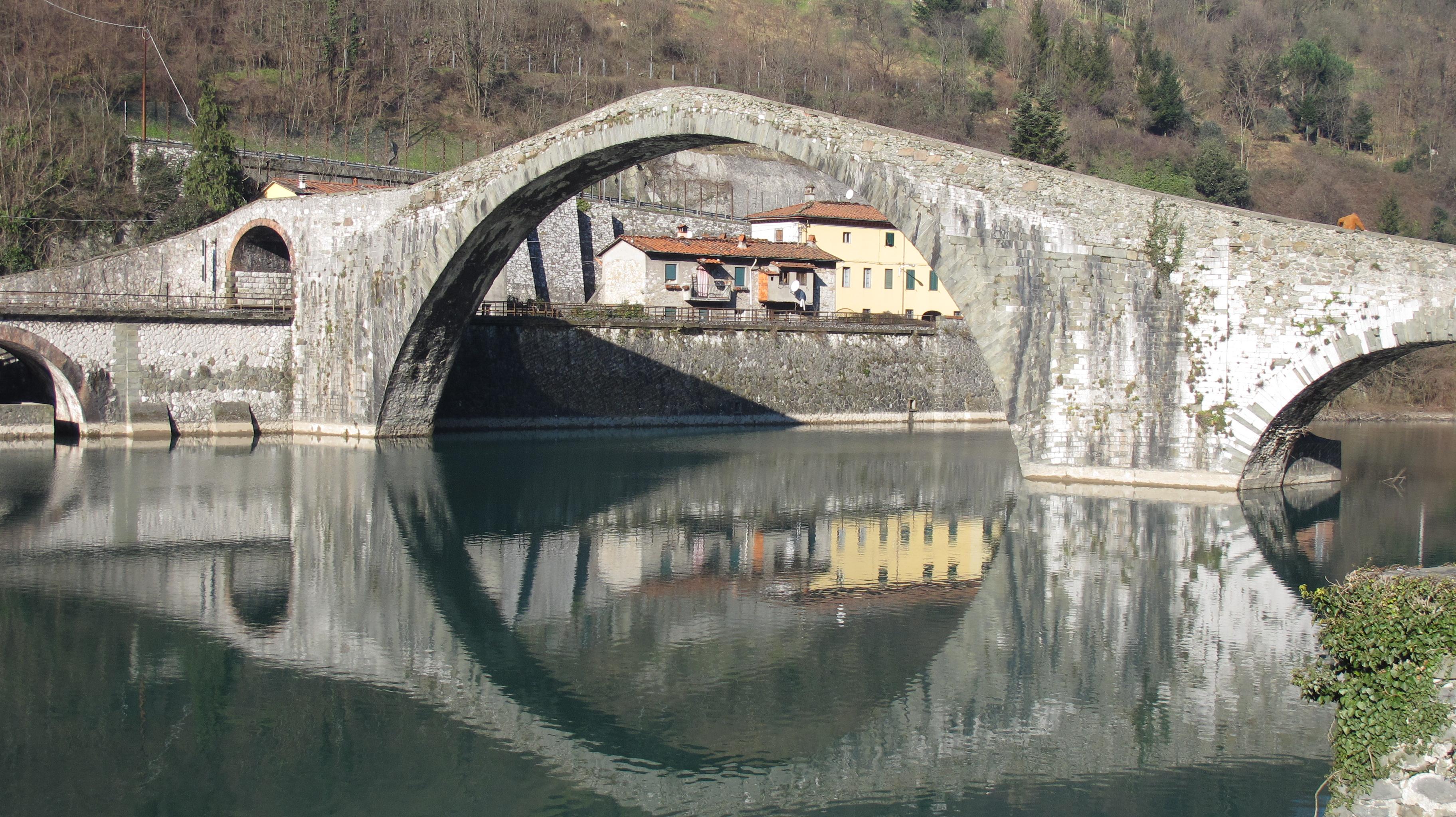 Winter at the Devil\'s Bridge | Bagni di Lucca and Beyond