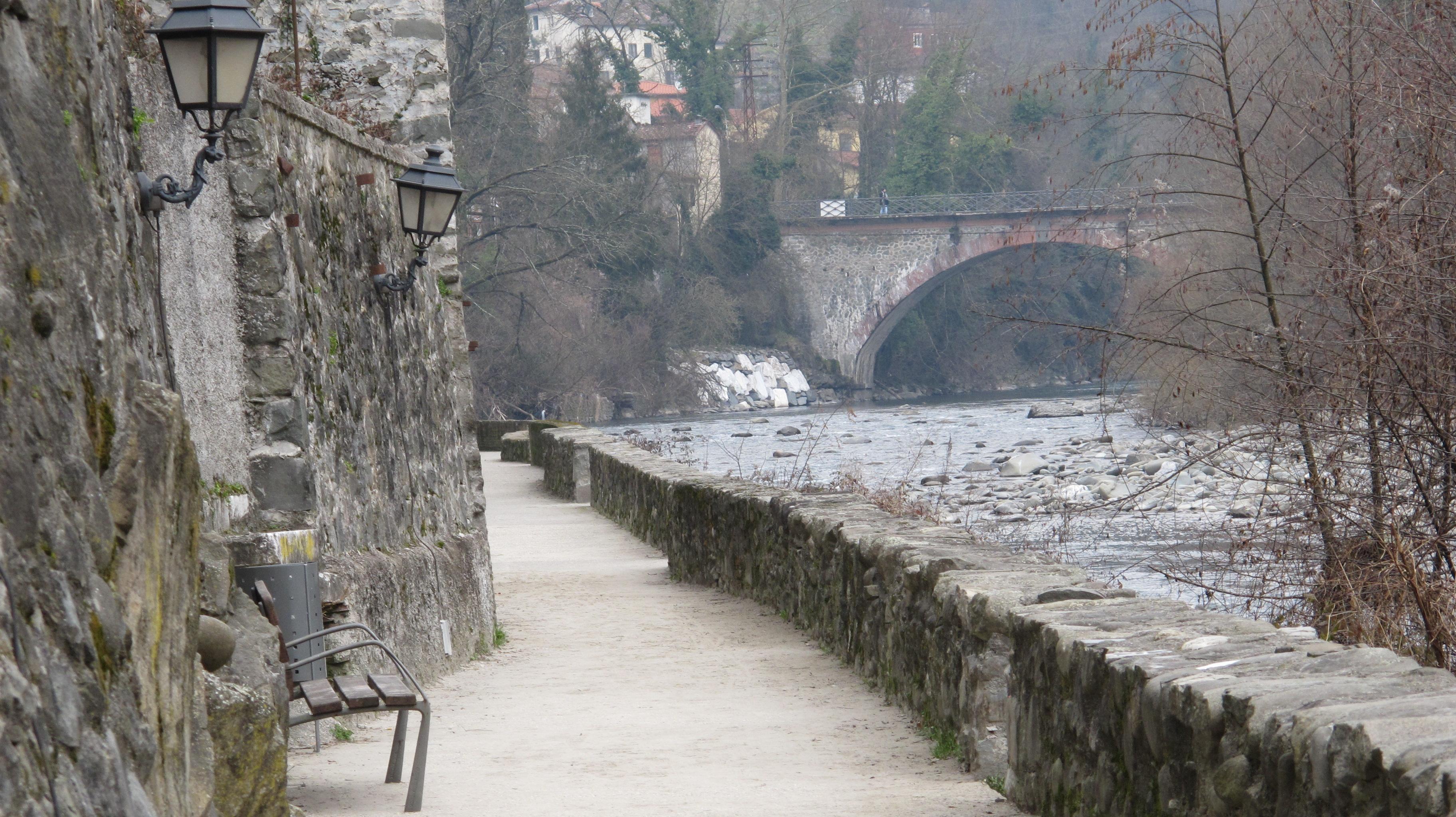 Lovers\' walk | Bagni di Lucca and Beyond