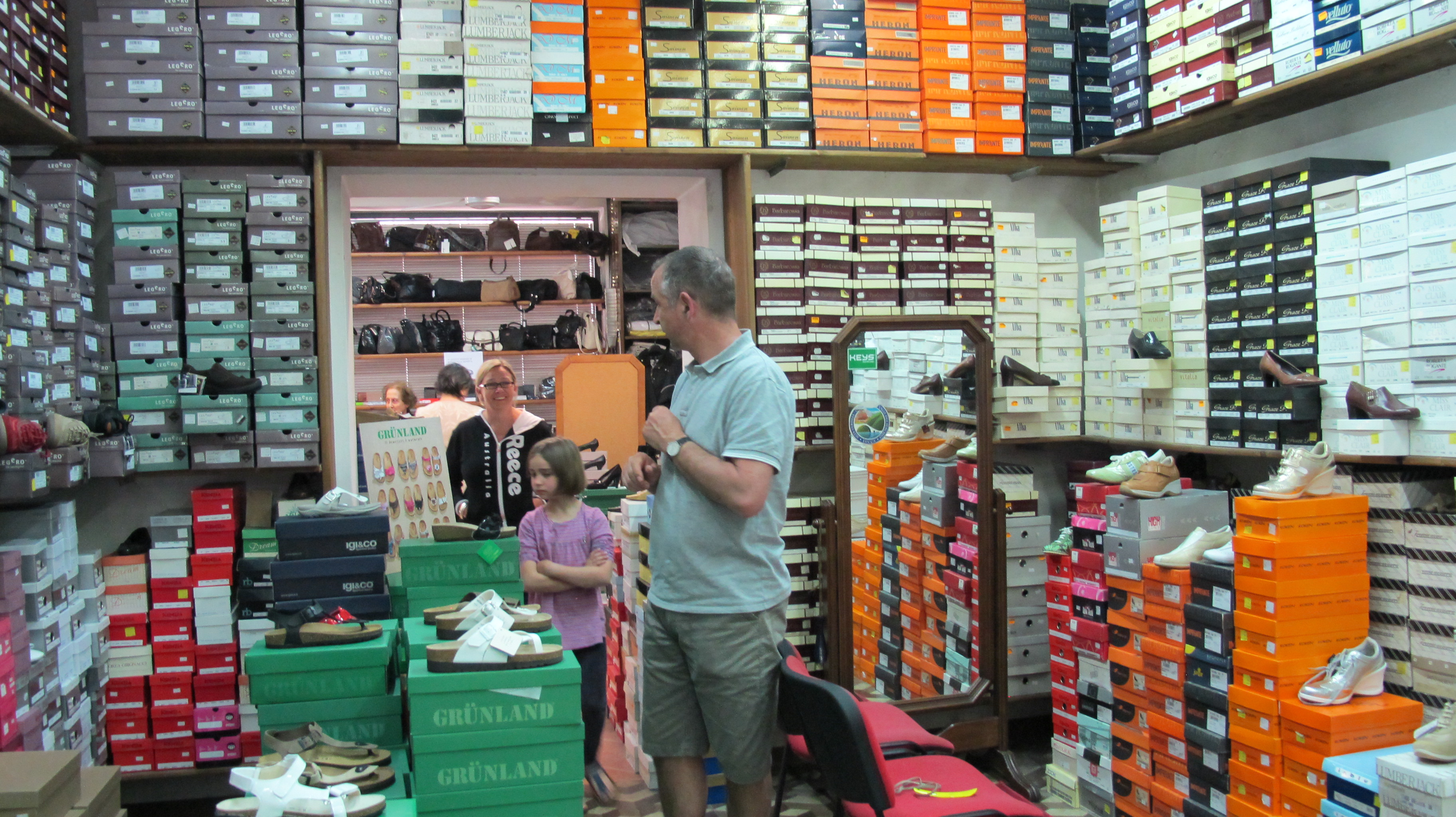 Bagni Di Lucca Has A Very Big Shoe Shop Bagni Di Lucca