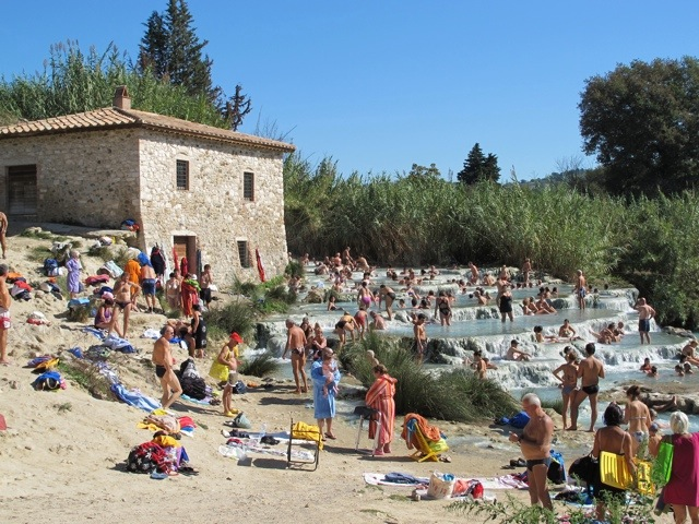 In a bit of hot water in Saturnia | Bagni di Lucca and Beyond