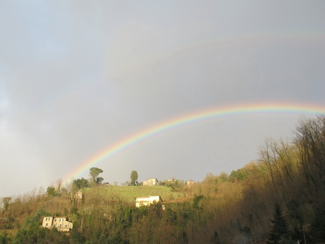 I thought the rain had finished | Bagni di Lucca and Beyond