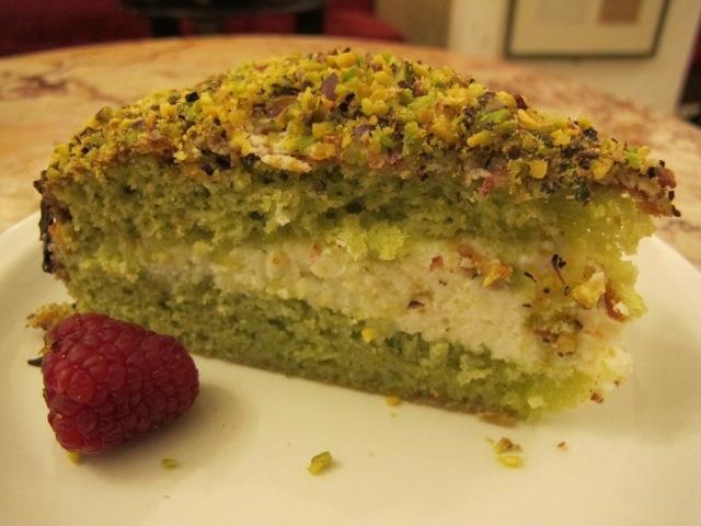 Caffe Greco Roma Pistachio Cake