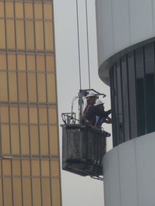 Window cleaning in Hong Kong