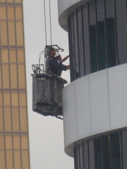 Hong Kong window cleaners