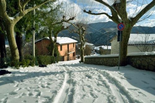 snow in Vergemoli
