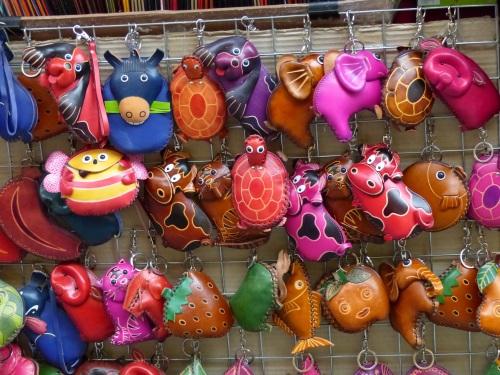Florence leather market
