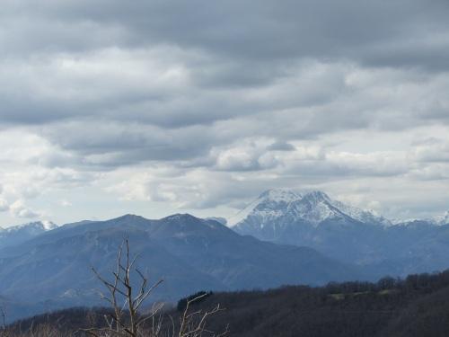 Mountains in Bagni di Lucca