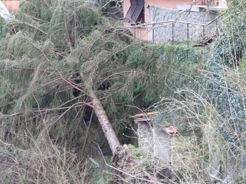 La Villa damage
