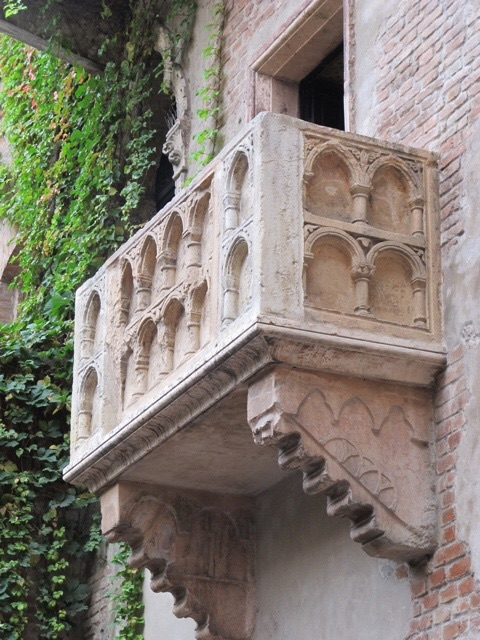 Juliette' balcony Verona