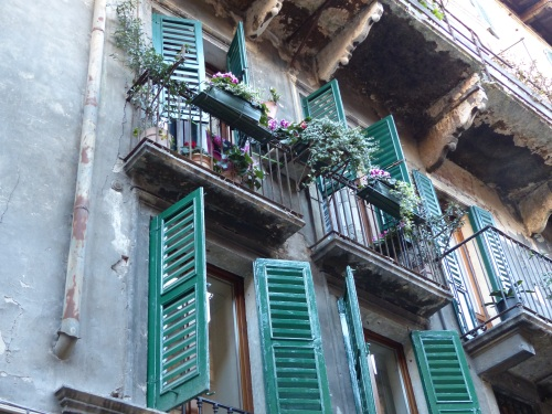 Verona balconies