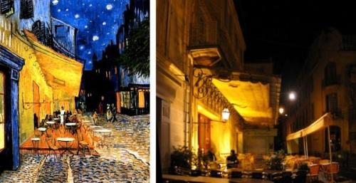 Van Gogh in Arles. Google image