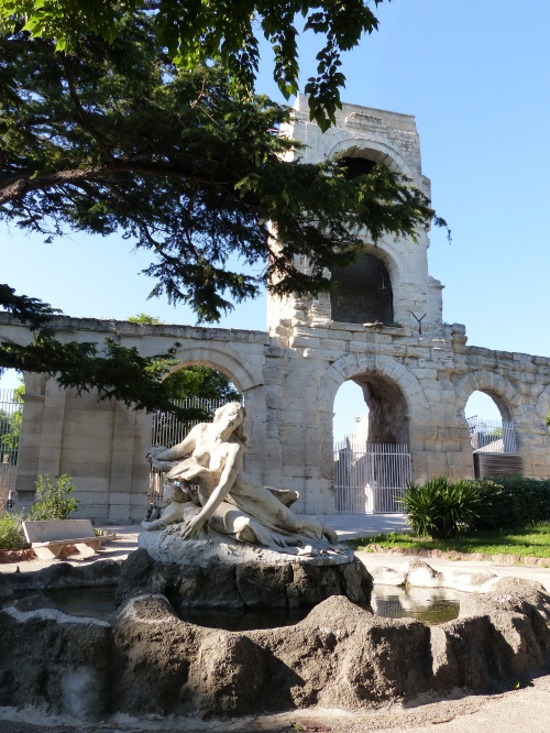 Roman ruins Arles