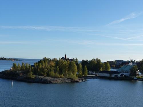 Islands in Helsinki harbour