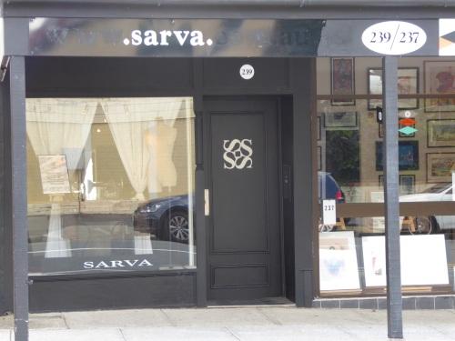 Sarva's shop