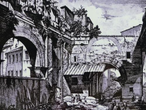 Fish market Rome