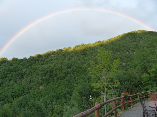 Casa Debbio rainbow