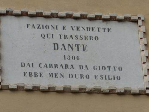 Dante Alighieri in Padova