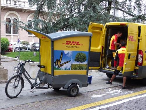 DHL in Padova