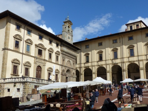 Antique market Arezzo
