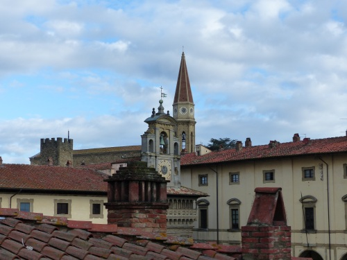 Arezzo early morning