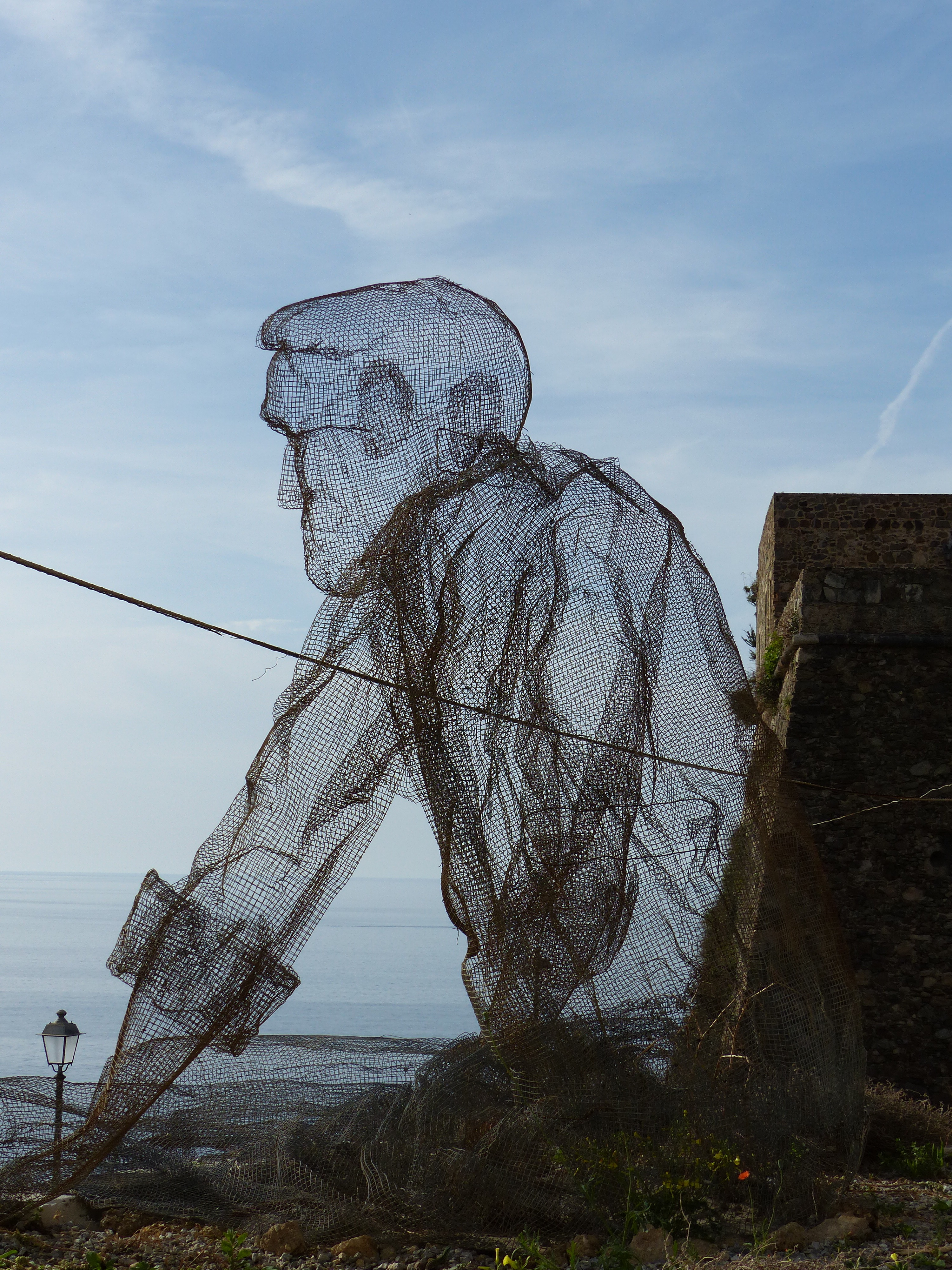 Chicken wire chap | Bagni di Lucca and Beyond
