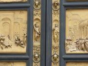 Baptistery doors Florence