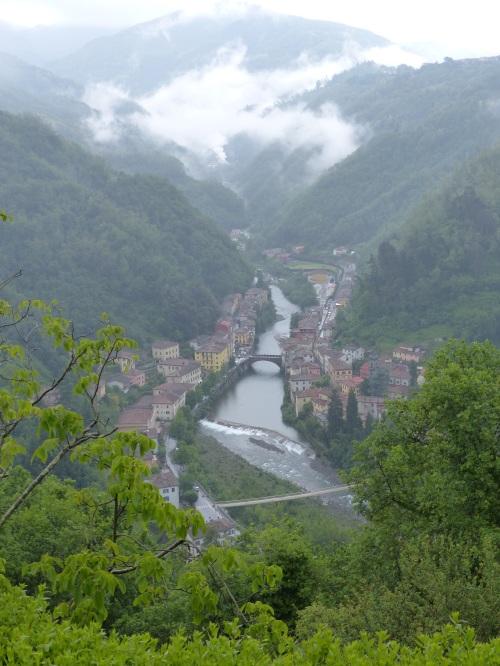 Ponte a Serraglio rain