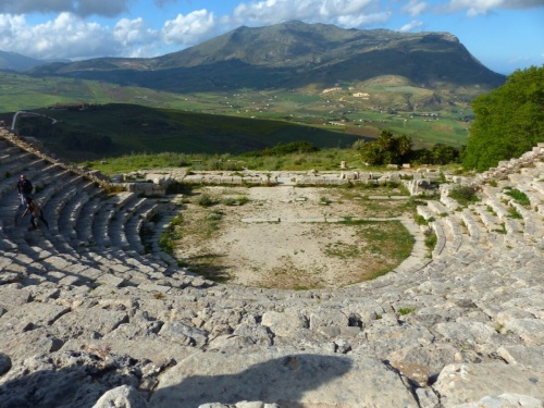 Ancient theatre Segesta