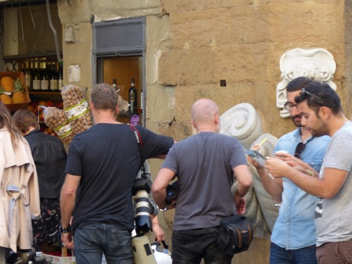 Film set Florence