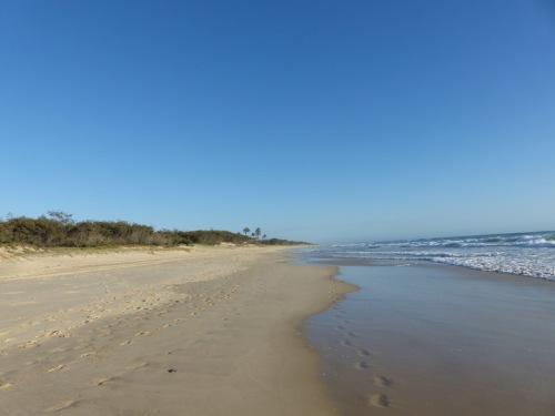 The spit Main Beach