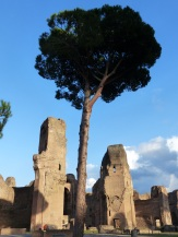 Rome Caracalla baths