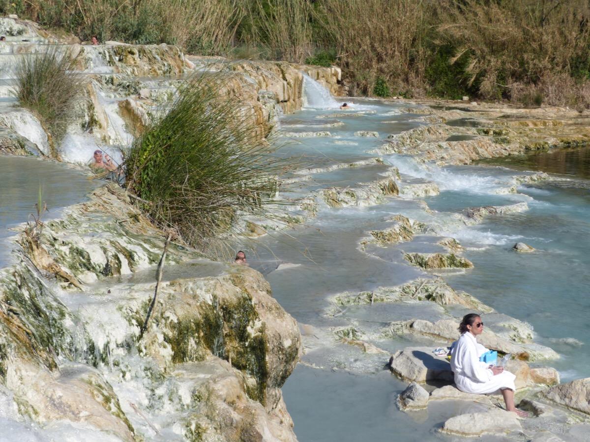 Soaking up Saturnia | Bagni di Lucca and Beyond
