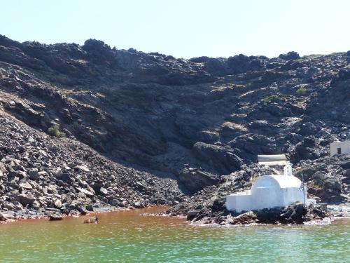Sailing Santorini