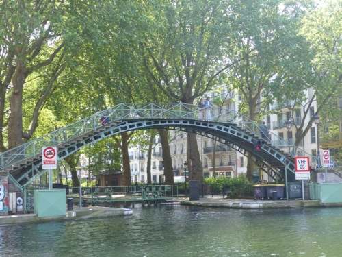 Saint-Martin canal Paris