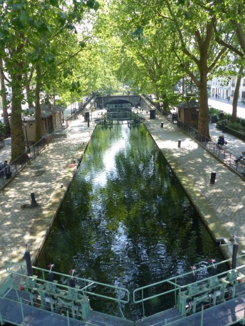 Saint-Martin canal Paris